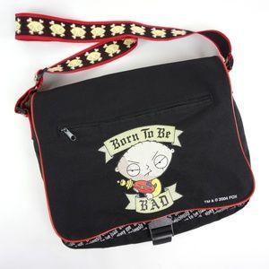 RARE Family Guy Stewie Messenger Bag
